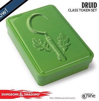 Dungeons and Dragons Token set - Druid