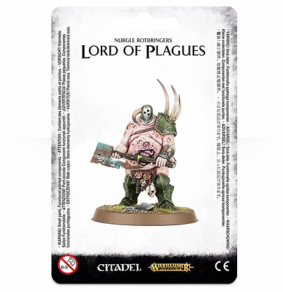 Maggotkin of Nurgle - Lord of Plagues