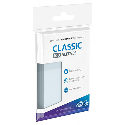 Card Sleeves Ultimate Guard - Classic Standard soft sleeves
