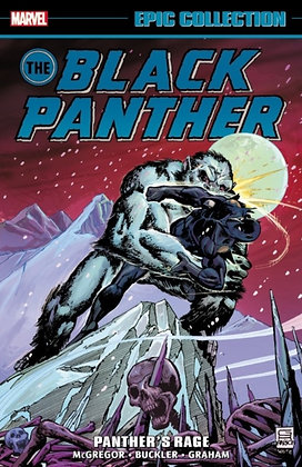 Black Panther Panther's Rage - The Epic Collection