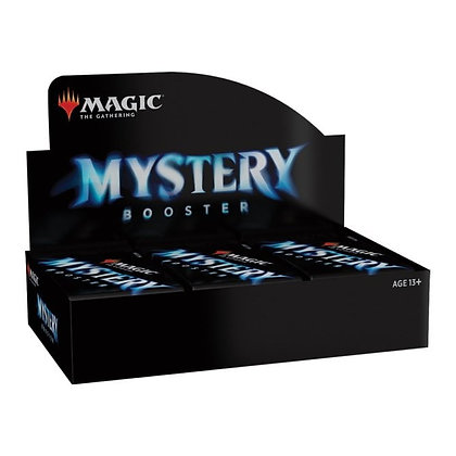 Magic the Gathering Mystery Booster Sealed Booster Box (24 Packs)