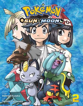 Pokemon Sun and Moon Vol 02 (Manga)