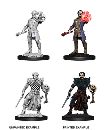Human Warlock ( Male ) - D&D Nolzurs Marvelous Miniatures