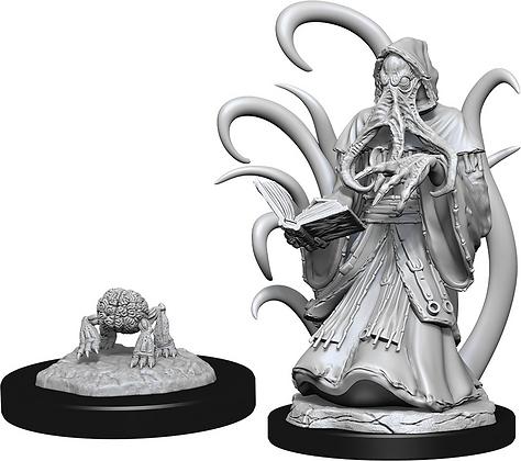 Alhoon and Intellect Devourer - D&D Nolzurs Marvelous Miniatures