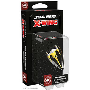 Star Wars X wing Galactic Republic - Naboo Royal N-1 Starfighter Expansion Pack