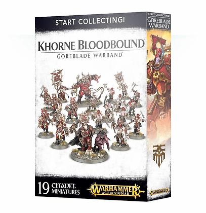 Age of Sigmar - Start Collecting - Khorne BloodBound Goreblade Warband