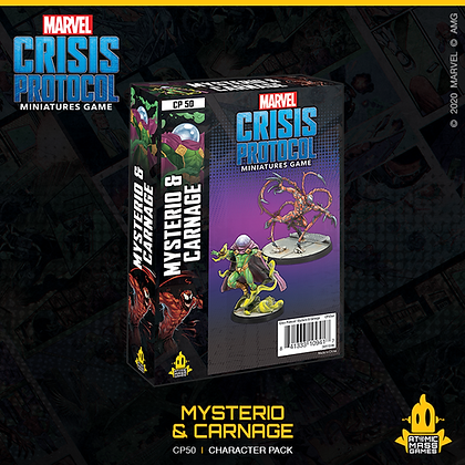 Marvel Crisis Protocol - Mysterio and Carnage