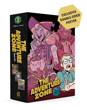 Adventure Zone Boxed Set : Here There Be Gerblins, Murder on the Rockport Li