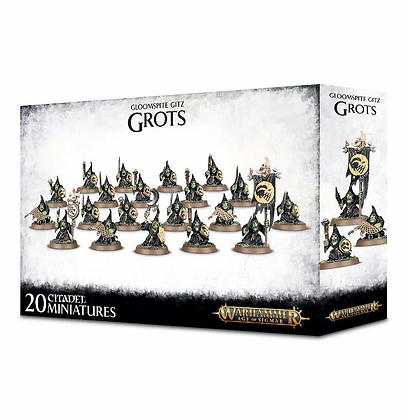 Age of Sigmar - Gloomspite Gitz - Grots Stabbas