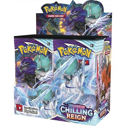 Pokemon Chilling Reign Booster Box SEALED (36 Packs)