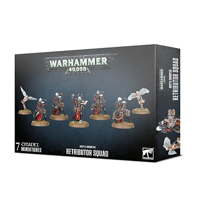 Sisters of Battle - Retributor Squad