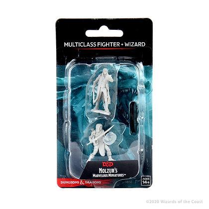 Multiclass Human Fighter & Wizard ( Male ) - D&D Nolzurs Marvelous Miniatures