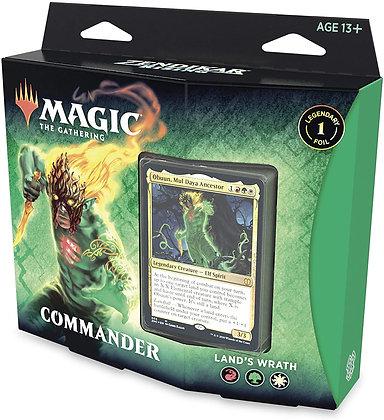 Magic the Gathering Zendikar Rising Commander deck - Land's Wrath