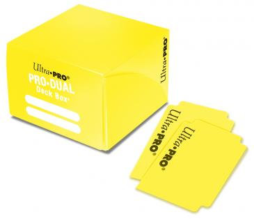 Deck Box Ultra Pro - Pro Duel Holds 180 cards Yellow