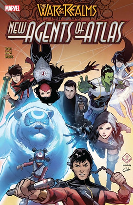 Agents of Atlas , New. The War of the Realms