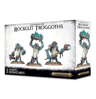 Age of Sigmar - Gloomspite Gitz - Rockgut Troggoths