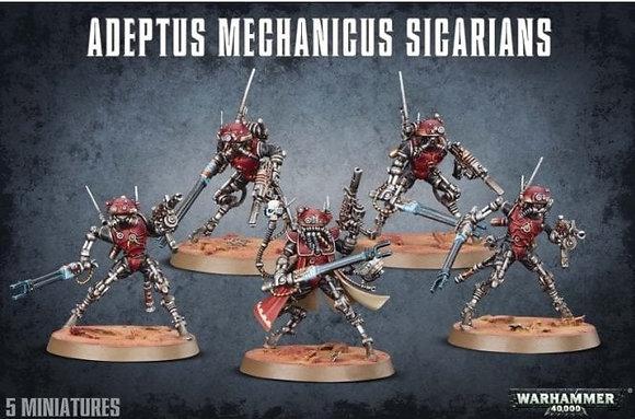 Adeptus Mechanicus - Sicarians Infiltrators / Ruststalkers