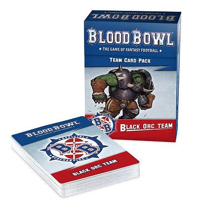 Blood Bowl - Black Orc Team Card Pack