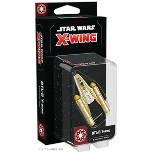 Star Wars X wing Galactic Republic - BTL-B Y-Wing Expansion Pack
