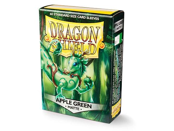 Card Sleeves Dragon Shield - 60 Standard Size Matte Apple Green