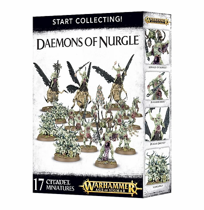Age of Sigmar - Start Collecting - Daemons of Nurgle