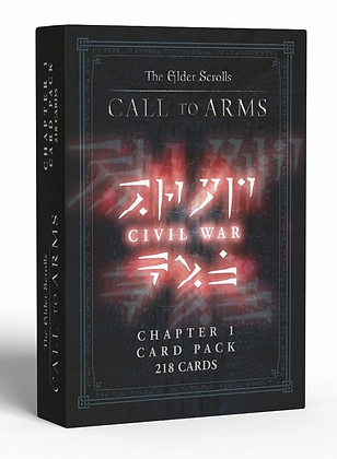 Elder Scrolls Call To Arms - Chapter 1 Card pack Civil War