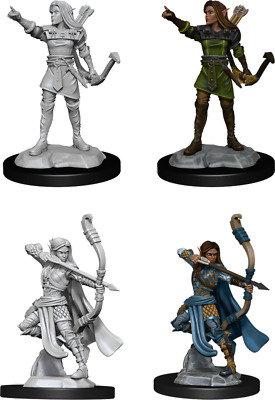 Elf Ranger ( Female ) - D&D Nolzurs Marvelous Miniatures