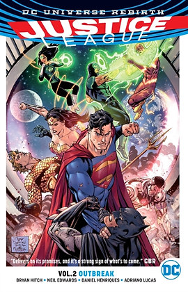 Justice League ( Rebirth ) Vol 02 - Outbreak