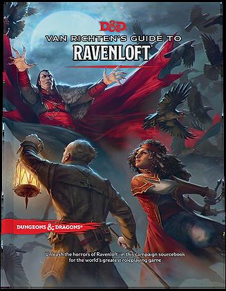 Books - Dungeons & Dragons Van Richten's Guide to Ravenloft