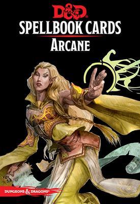 D&D  Spellbook Cards - Arcane