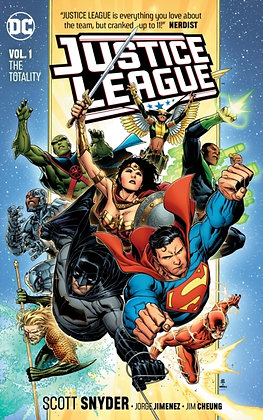 Justice League ( Rebirth ) Vol 1 - The Totality