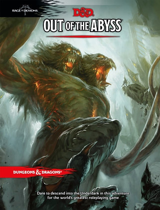 Books - Dungeons & Dragons Out of the Abyss