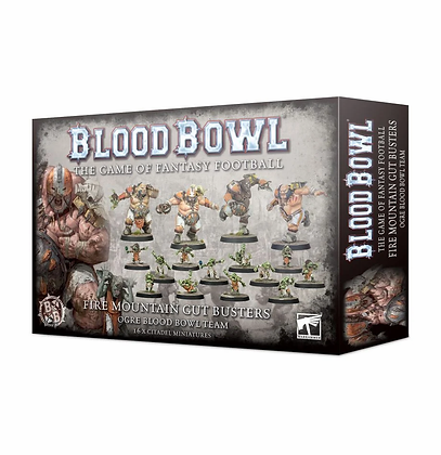 Blood Bowl Team - Ogre Fire Mountain Gut Busters