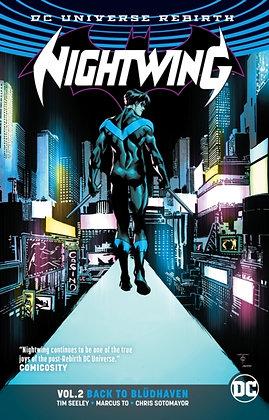 Nightwing Rebirth Vol 02 - Back to Bludhaven