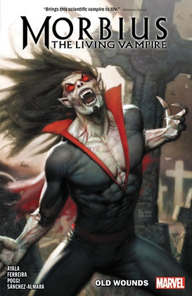 Morbius Vol 1 Old Wounds