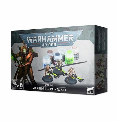 Necrons - Necron Warriors and Paint set