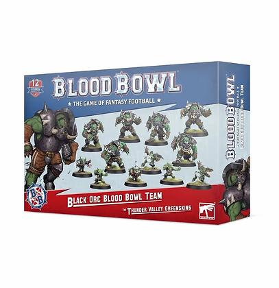 Blood Bowl Team - Black Orc Team The Thunder Valley Greenskins
