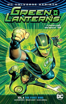 Green Lanterns (Rebirth) Vol 4 - The First Ring