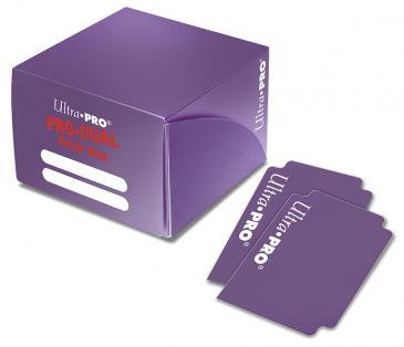 Deck Box Ultra Pro - Pro Duel Holds 180 cards Purple