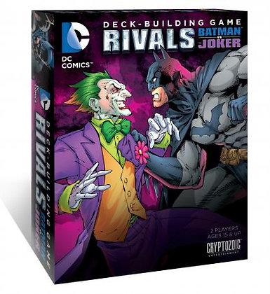 Dc Deck Building Game Rivals - Batman Vs Joker
