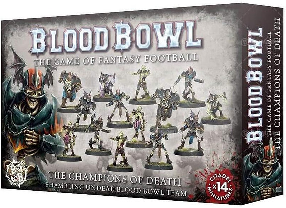 Blood Bowl Team - Undead Champions of Death