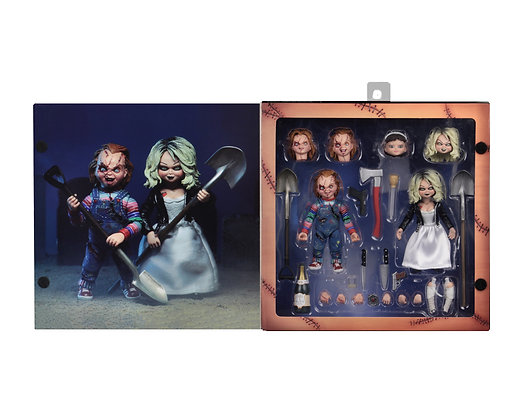 Chucky - Childs Play - Bride of Chucky 2 pack