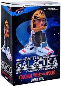 Battlestar Galactica - Viper with Apollo bobblehead.