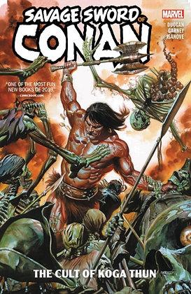 Conan, Savage Sword of. - The Cult of Koga Thun