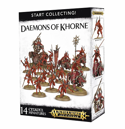 Age of Sigmar - Start Collecting - Daemons of Khorne