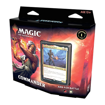 Magic the Gathering Commander Legends Deck - Arm for Battle