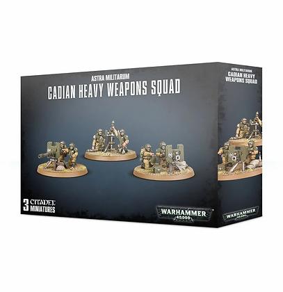 Astra Militarum - Cadian Heavy Weapon Squad