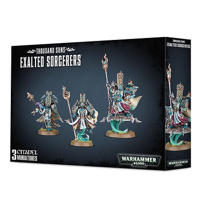 Thousand sons - Exalted Sorcerers