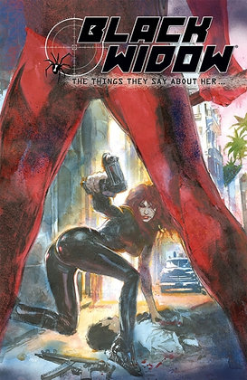 Black Widow The Things They Say About Her - Marvel Comics