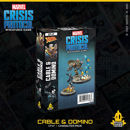 Marvel Crisis Protocol - Cable and Domino